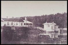 Ruukin tehtaan asunto 1870 Huutokoskella