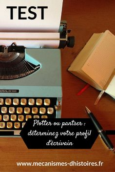 Test : plotter ou pantser ? Déterminez votre profil d'écrivain pour gagner en efficacité dans votre process d'écriture.