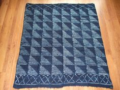 Vintage Indigo Cloth from Mali, W. Africa. Art / Interior Design / Clothing in Collectables, Ethnographic, African | eBay