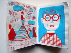 Illustrators' Sketchbooks, f Frenchman Laurent Moreau's can be found in his painted sketchbooks