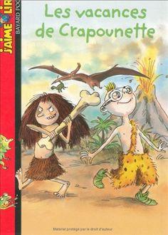"""Tapuscrit et fiches """"Les vacances de Crapounette"""" CP-CE1 - Saperlipopette"""