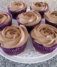 Bananchoklad cupcakes