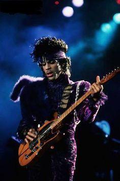 Prince | 1984/85 Purple Rain Tour His Royal Badness - love this look!