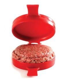 Red Stuffed Burger Maker