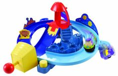 Amazon.com : Toy Story Zing Ems Rocket Rumble Playset : Toy Vehicle Playsets : Toys & Games