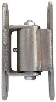 Heavy Duty Bolt-On Hinge, Stainless Steel