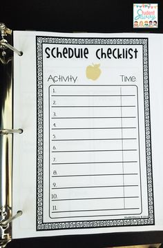 Substitute Binder - Editable teacher binders - be ready for back to school! - FREEBIES!