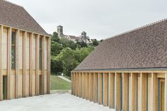 Bernard Quirot - Community healthcare building, Vézelay
