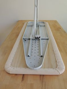 Camping Table - Step 12 - Secure (Screw) Ironing Board Base to Plywood Top