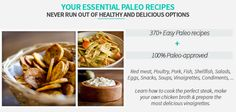 Prepare easy and healthy meals with the Paleo Recipe Book. Over 350 recipes covering just about anything you'll ever need on a Paleo diet. Recipe R, Recipe Cover, Cooking The Perfect Steak, Recipe Download, Paleo Recipes Easy, How To Eat Paleo, Learn To Cook, Paleo Diet, Snacks