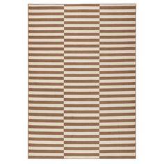 Béžovobílý koberec Hanse Home Gloria Panel, 200x290cm