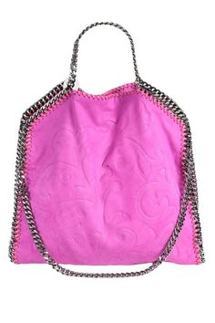 The girliest chains around #StellaMcCartney #totes #falabella