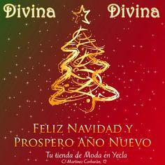 Tu tienda de moda Divina en Yecla te desea feliz navidad y próspero año 2013 !!!!