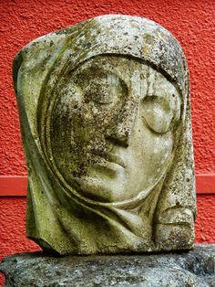 My photo of stone sculpture taken in Fitzgerald Park, Cork.