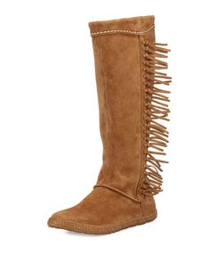 1bdb8a3c3ac UGG Mammoth Suede Fringe Knee Boot
