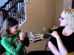 ASL Interview with Deaf of Deaf 8 year old - YouTube