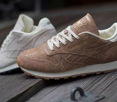 "online retailer 572b5 8d727 Reebok Classic Leather ""Exotics Pack"" スニーカーのストリートスタイル, クラシックレザー, テニス"