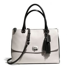 Coach Legacy Large Harper Satchel In Two Tone Leather ($598)