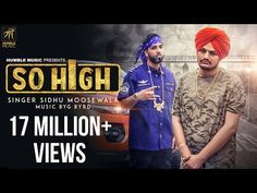 So High | Official Music Video | Sidhu Moose Wala ft. BYG BYRD | Humble Music - YouTube