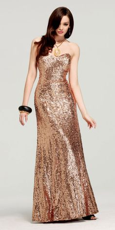 Sequined Faviana Prom Dresss 6801 I love this!