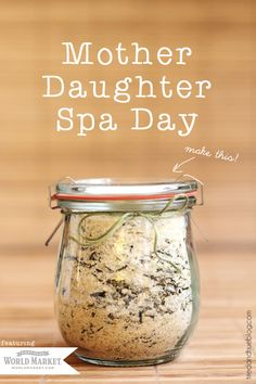 Pamper your mother with a Spa Day from World Market! Includes recipe for Ginger Green Tea Detox Soak! | Tried & True