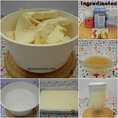 Sorvete+caseiro+de+coco Sorbet Ice Cream, Love Ice Cream, Smoothies, Frozen Yogurt, Milkshake, Popsicles, Just Desserts, Mousse, Oatmeal