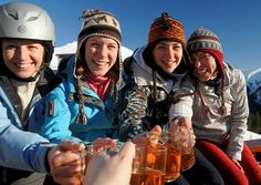 Gastronomy Ski World Championship. A giant fancy-dress ski slalom, mixology displays and tasting sessions present the crowd with the best in skiing, sipping and supping. Weekend Deals, World Championship, Night Club, Fancy Dress, Crowd, Skiing, Good Things, Whimsical Dress, Ski