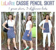 What an exciting way to wear a new Cassie.