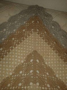 Mein Dreieck Tuch.