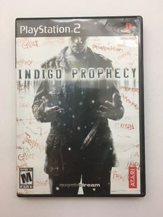 Indigo Prophecy Sony PlayStation 2 PS2 Complete Video Game 742725265486 | eBay