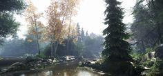 ArtStation - CryEngineV - Nature Study #4 (Veggispam), Finn Meinert Matthiesen