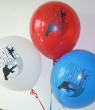 Martial Arts Themed Karate Birthday Party Balloons 12 for $1.99