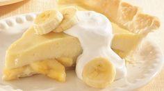 Banana Cream Pudding Pie...