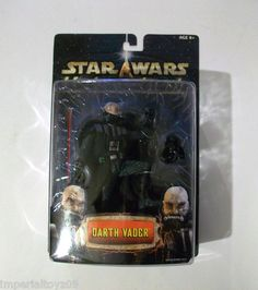 STAR WARS UNLEASHED DARTH VADER UNMASKED MOC AFA? FREE SHIPPING! SEE LISTING 4 DETAILS.LIKE OUR STORE PAGE ON FB.