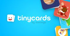 Memorize anything while playing a game! Tinycards is a brand new app created by the team behind Duolingo, the most downloaded education app in the world.