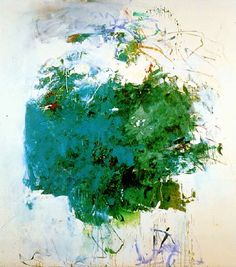Joan Mitchell, Cerulean Blue Tree, 1964, oil on canvas, h: 86.5 x w: 78 in / h: 219.71 x w: 198.12 cm