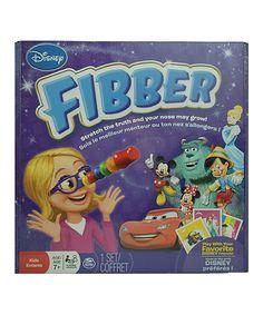 Love this Disney Fibber Game by Disney on #zulily! #zulilyfinds