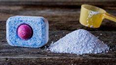 Vyrobte si domácí tablety do myčky! Jedna vás vyjde na 1 Kč