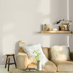 mur blanc salon castorama