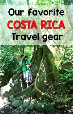 Find out what it is our backpacks when we travel around Costa Rica with a list of our favorite travel gear http://mytanfeet.com/costa-rica-travel-tips/costa-rica-travel-gear/