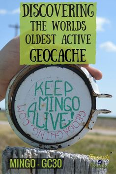 Accidentally Discovering the Oldest Active Geocache in the World - Mingo, Kansas - Peanuts or Pretzels