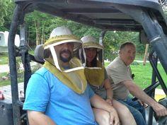 Honeymooners at the plowboy Mansion...