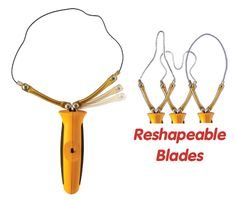 <p> <eol> Make the Blade Into Any Shape!! Comes with 5 ultra-stiff…