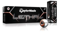 TaylorMade Lethal Golf Ball 12pk White ** For more information, visit image link. Note:It is Affiliate Link to Amazon.