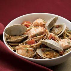 Seafood Linguine - Fitnessmagazine.com