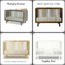 oeuf sparrow crib 820 white crib u0026 toddler - Oeuf Sparrow Crib