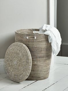 Handwoven in Senegal using traditional techniques, our beautifully shaped basked is woven from a local grass called ndiorokh, intertwined with long strips of plastic for added durability. As each basket is individually handmade, there can be slight variances in size and colour finish.