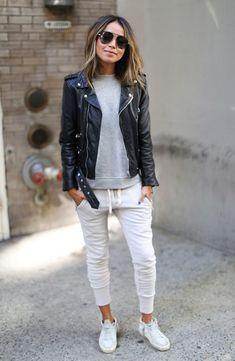 'Lux' Skinny Cotton Jogger Pants