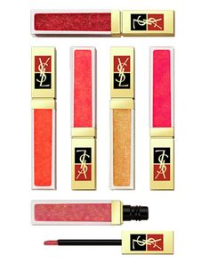 Golden Gloss Shimmering Lip Gloss by Yves Saint Laurent at Neiman Marcus.