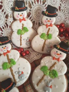 Snowman cookies, Christmas cookies, gingerbread cookies, gingerbread keepsake cookies, decorated cookies